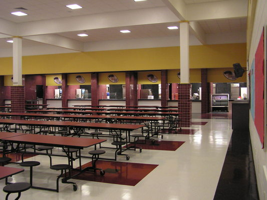 The Most Frightening Place On Earth High School Lunch