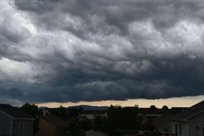 clouds back deck